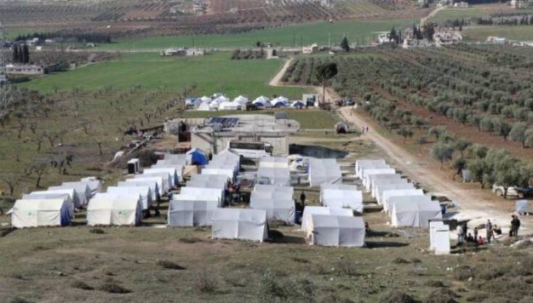Idleb Displaced Seek Settlement in Turkish-Held Areas