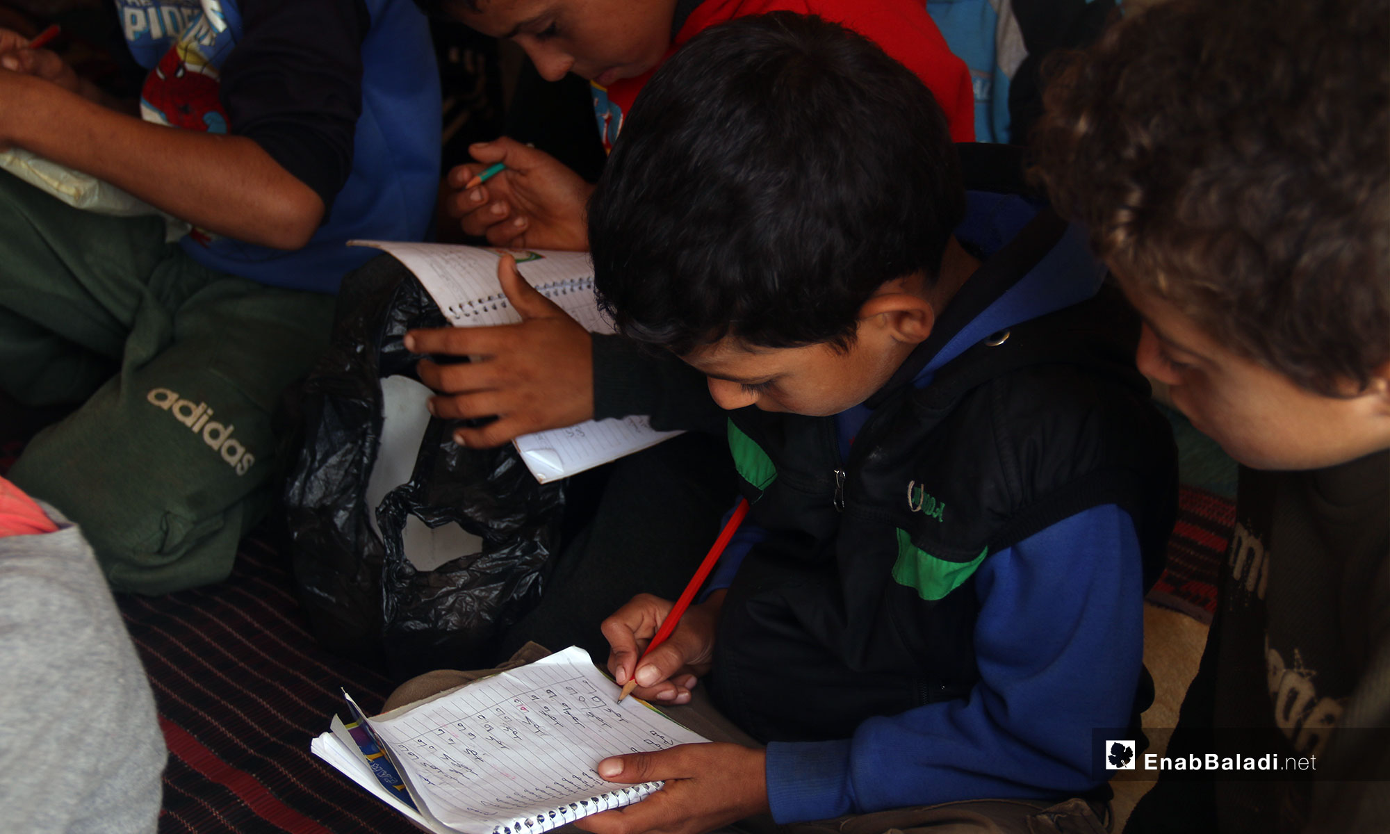 Education Suspended in Aleppo Countryside and Continuing Remotely in Idleb