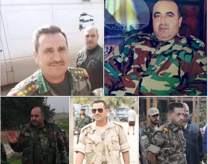 Regime Officers Killed, Including Republican Guard General, in Turkish Bombardment