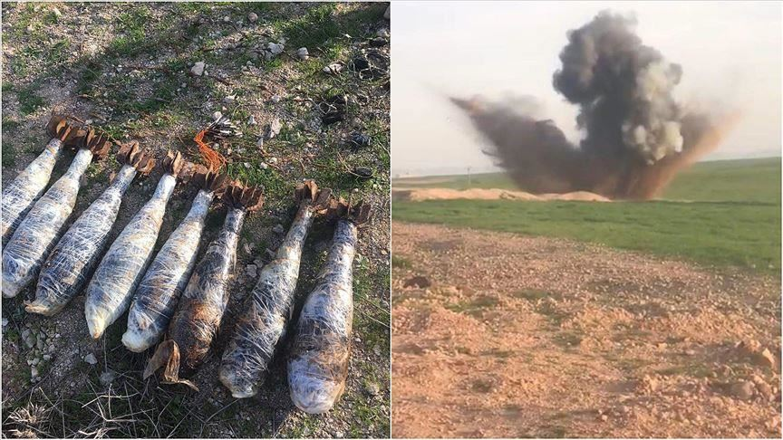 Turkish forces find explosives in home in NW Syria