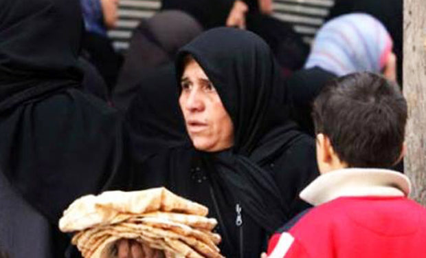 Regime's Interior Ministry: Woman Assaulted in Breadline Refuses to Pursue Her Attackers