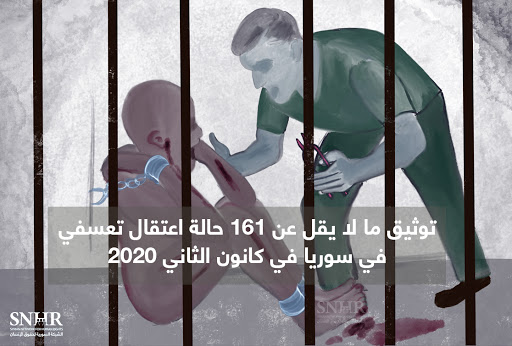 War Monitor Documents 156 Cases of Arbitrary Arrests in Syria