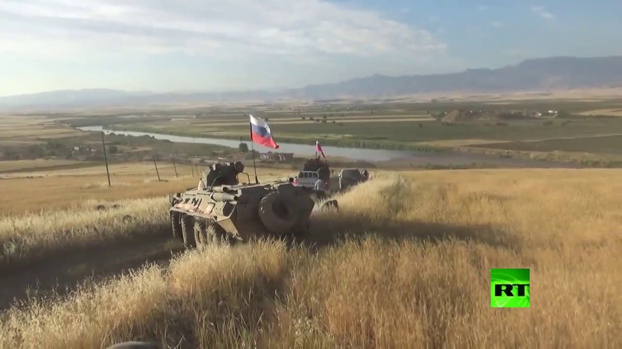 Russian Military Reaches Syrian, Iraqi, Turkish Border Triangle for First Time