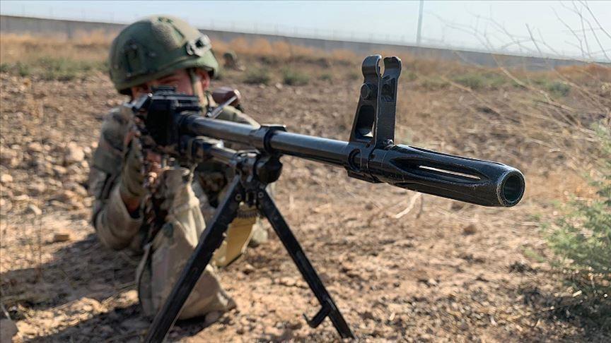 Turkey 'neutralizes' 2 YPG/PKK terrorists in N.Syria