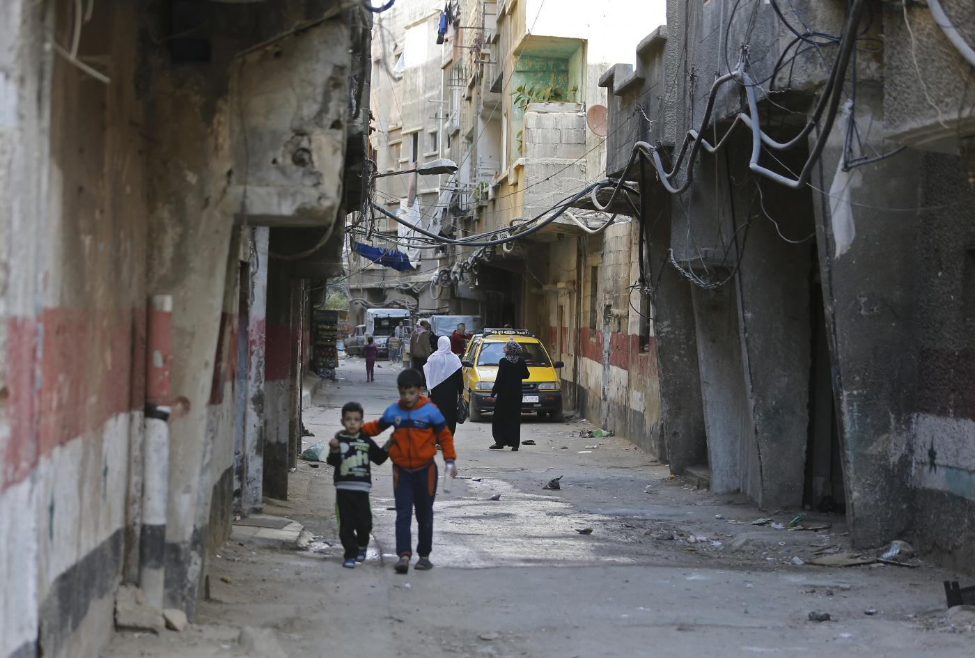 Palestinians' homes stolen once again as Assad eyes Syria's Yarmouk camp