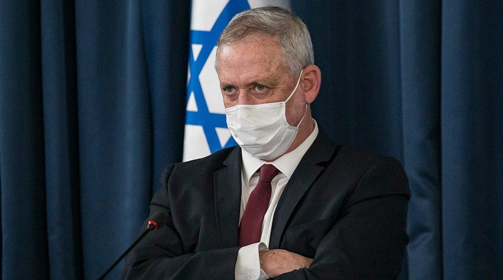Israel Will Prevent Iran From 'Opening Terrorist Front in Syria': Gantz