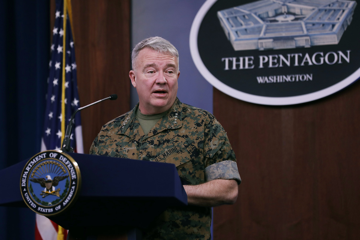 Top army general: US to reduce troops in Iraq, Syria