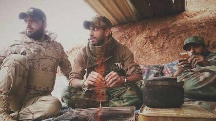 Iraqi Fighters Arrive in Aleppo