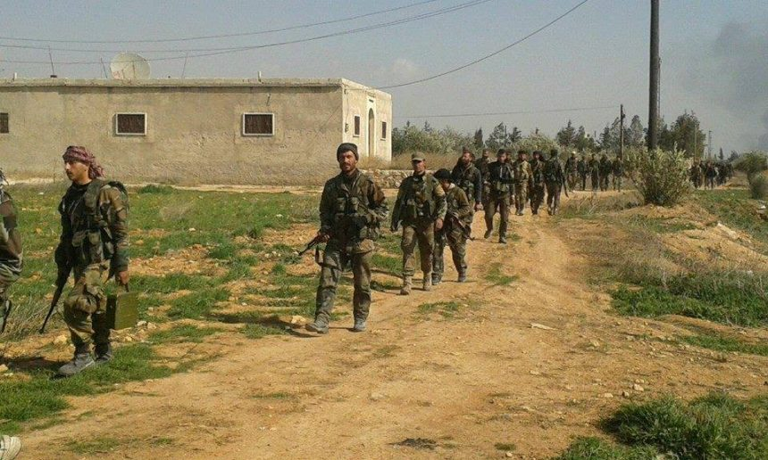 Syrian Army Heavily Strikes Jihadist Forces Near Turkish Border