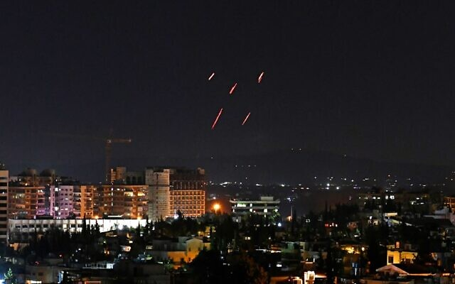 Syrian state media reports Israeli airstrikes near Aleppo