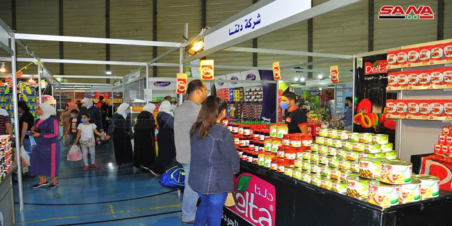 "100 Industrial Companies Participate in ""Made in Syria"" Shopping Festival"