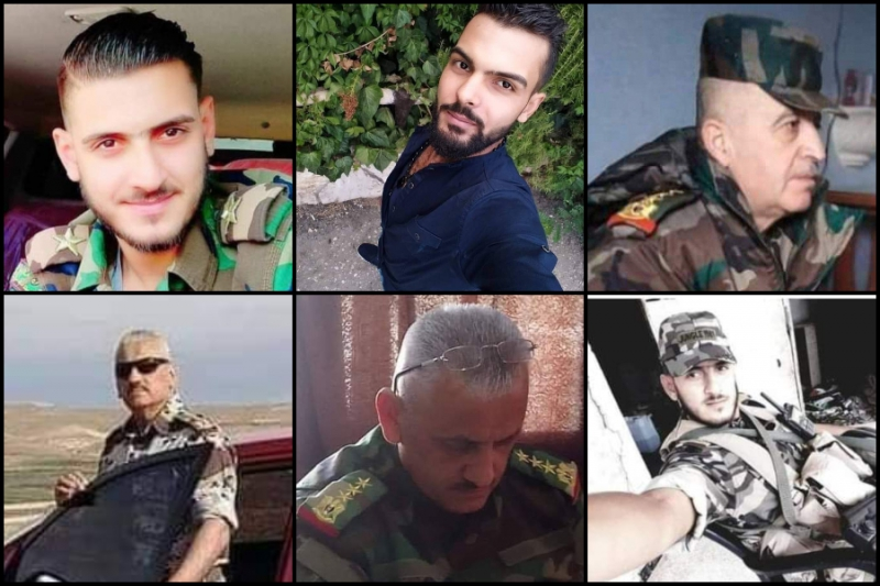 High-Ranking Leaders, Regime Army Members Reported Dead