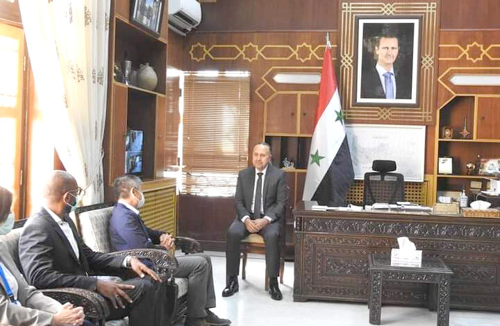 UN Delegation from Hama: Ready to Rehabilitate Terrorism-Stricken Areas