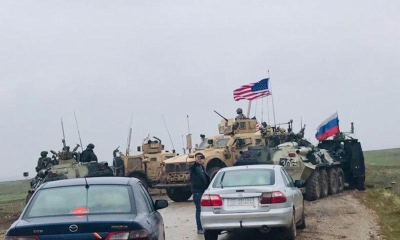 US, Russia Strengthen their Forces in Northeastern Syria
