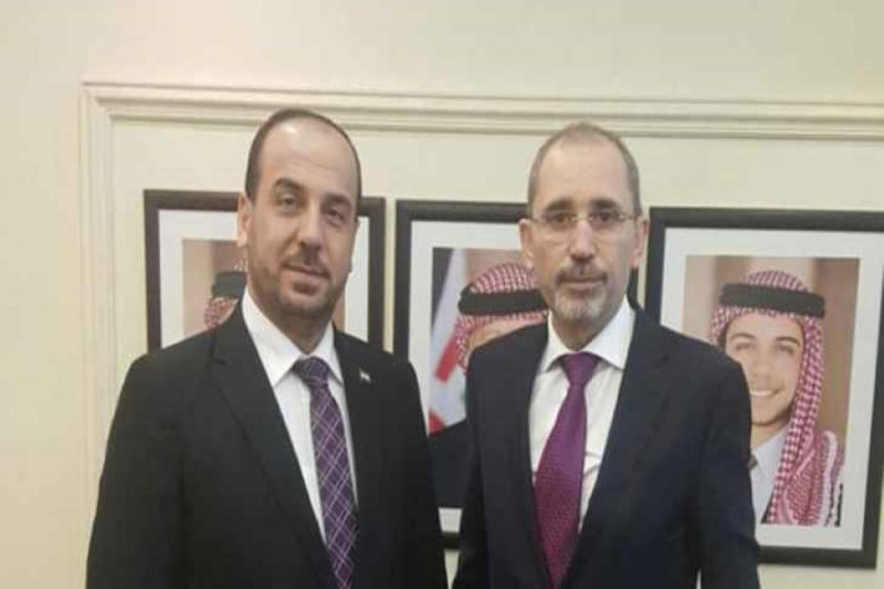 Syrian Coalition President: Collaboration with Jordan Important