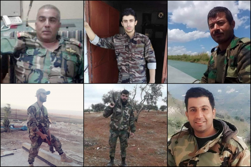 Regime Officers Killed, Wounded