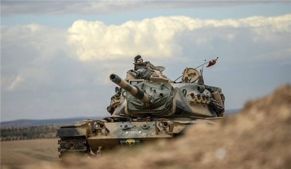 Turkish Forces Unleash Powerful Attack in Northern Syria