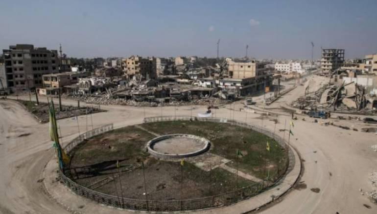 Raqqa Mayor Reconstruction Aid Lacks Not Enough Le monde