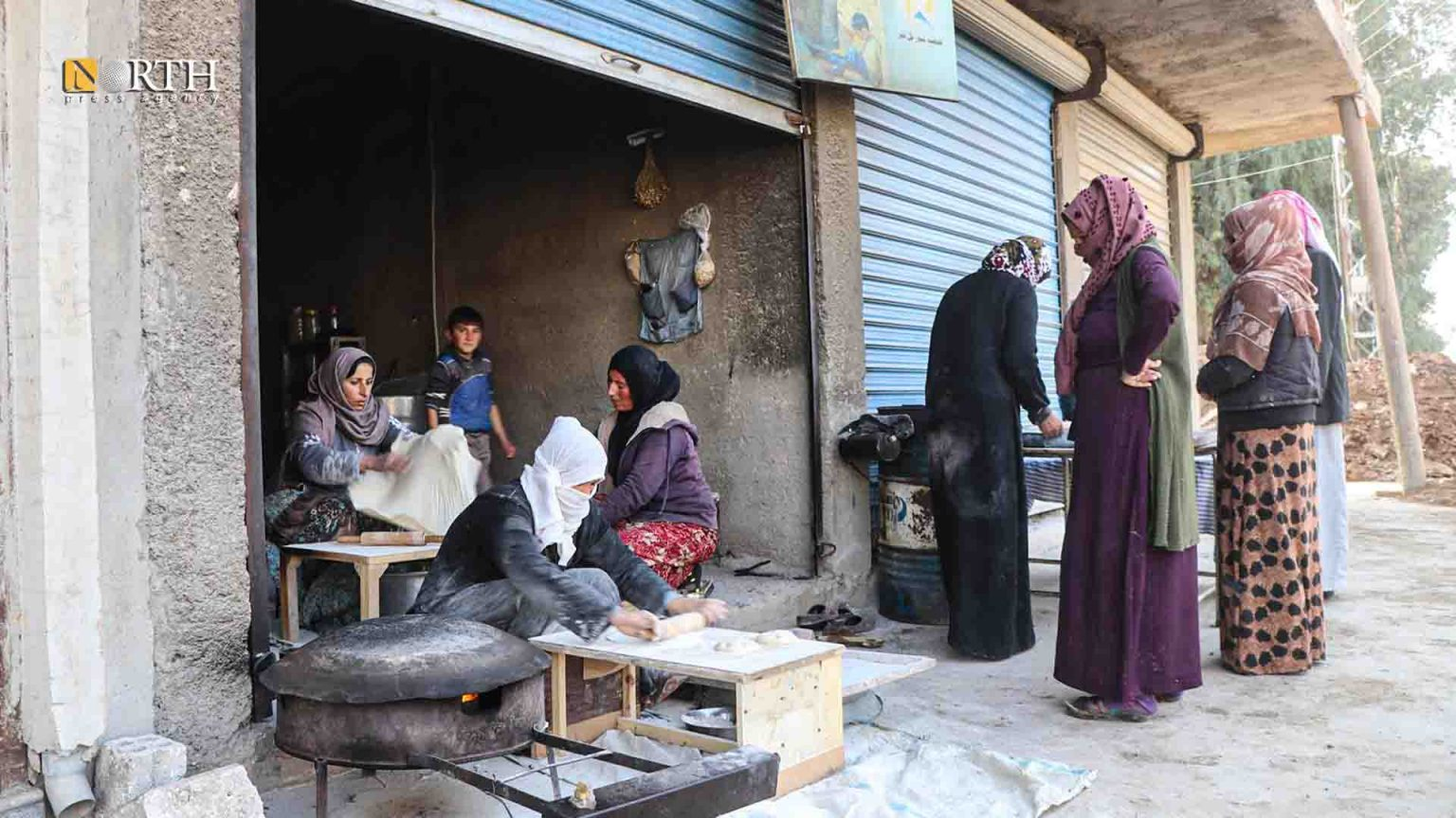 Women Run Bakery Opens in Northern Syria's Tel Tamr