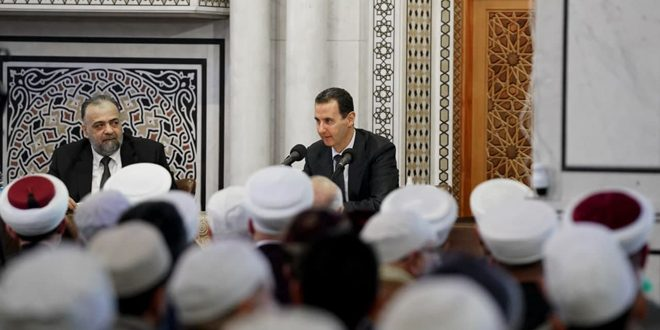 Assad: Religion Forms the Essence of Thought as It Influences All Aspects of Life