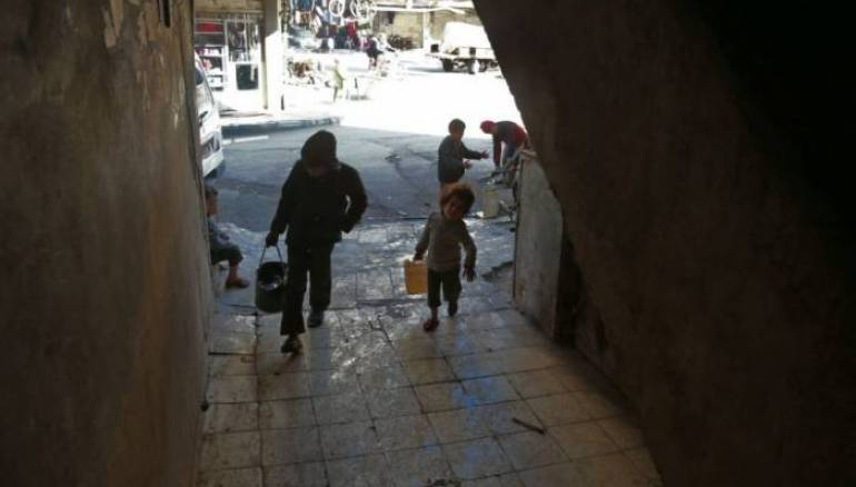 Damascus Southern Suburbs Lack Drinking Water