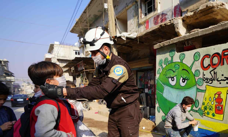 Syria's White Helmets awarded £1.17m to make PPE