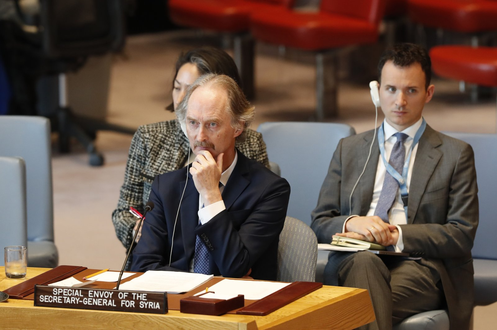 Talks on Syria's constitution to resume next week, UN envoy says