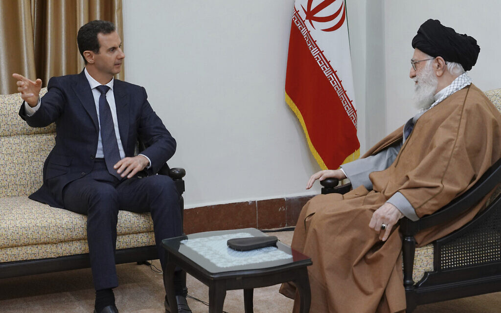 Iran trying to deepen roots in Syria despite signs it may no longer be welcome