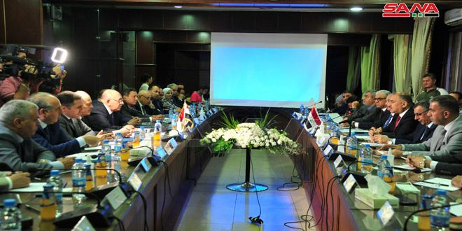 Syria and Iraq Discuss Means to Enhance Industrial Cooperation