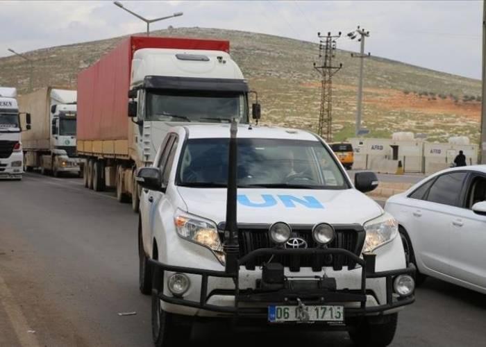 UN Sends 72 Truckloads of Aid to Northwestern Syria