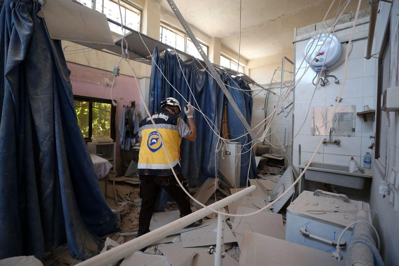 U.S. Condemns Attack on Syria Hospital as Biden to Meet Erdogan