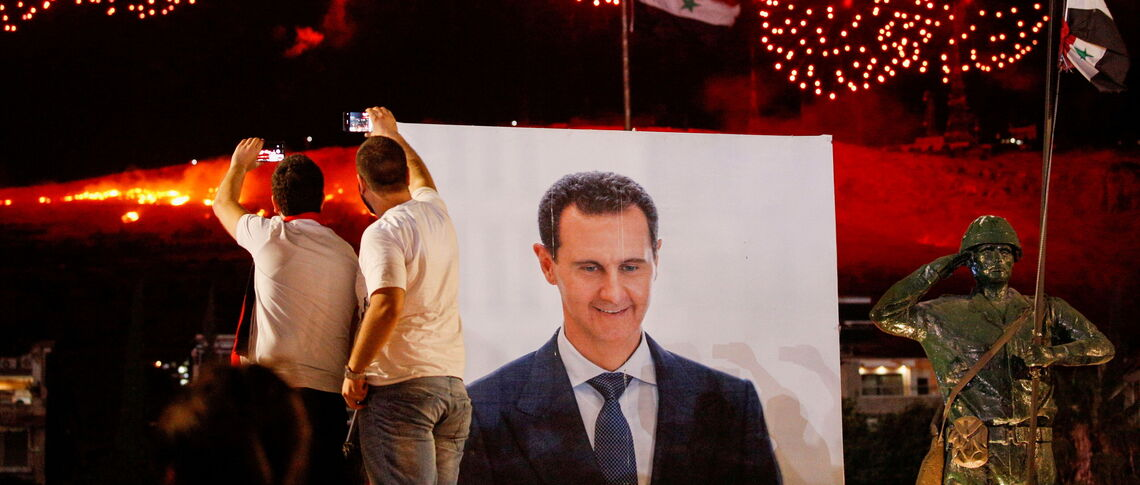 'A political solution in Syria is a long way off'