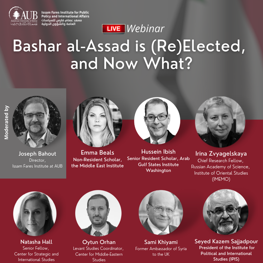 The Future of Syria as Seen by Regional and International Stakeholders
