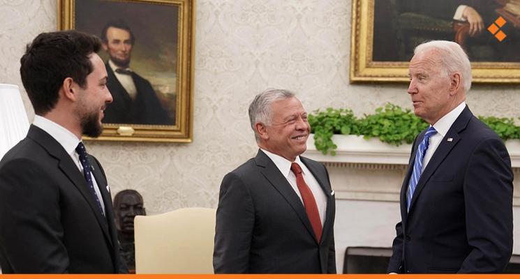 Jordanian King in Washington: Helping Syria Benefits Everyone, Especially Jordan