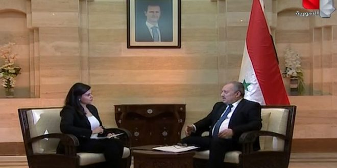 Prime Minister explains the suffering of Syrians US coercive measures