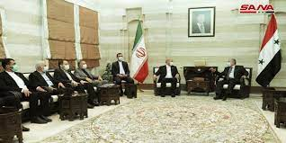 Iran and Syria Discuss Bolstering Economic Relations and Trade