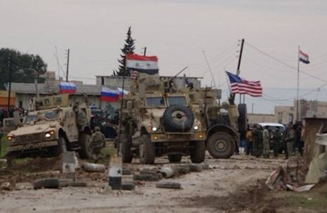 Hand-to-hand Clashes Between Russian and US Forces in Hassakeh