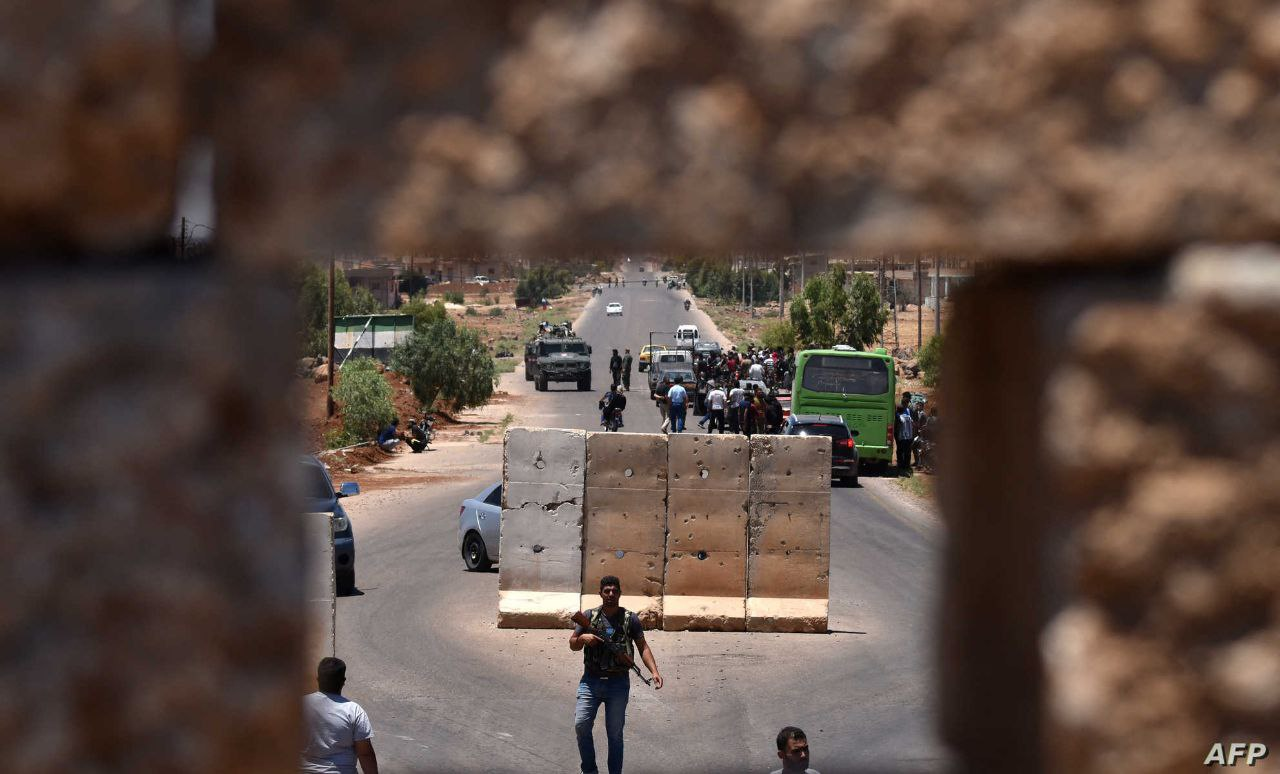 End of Siege, Checkpoint Opens Between Daraa al-Balad and City Center