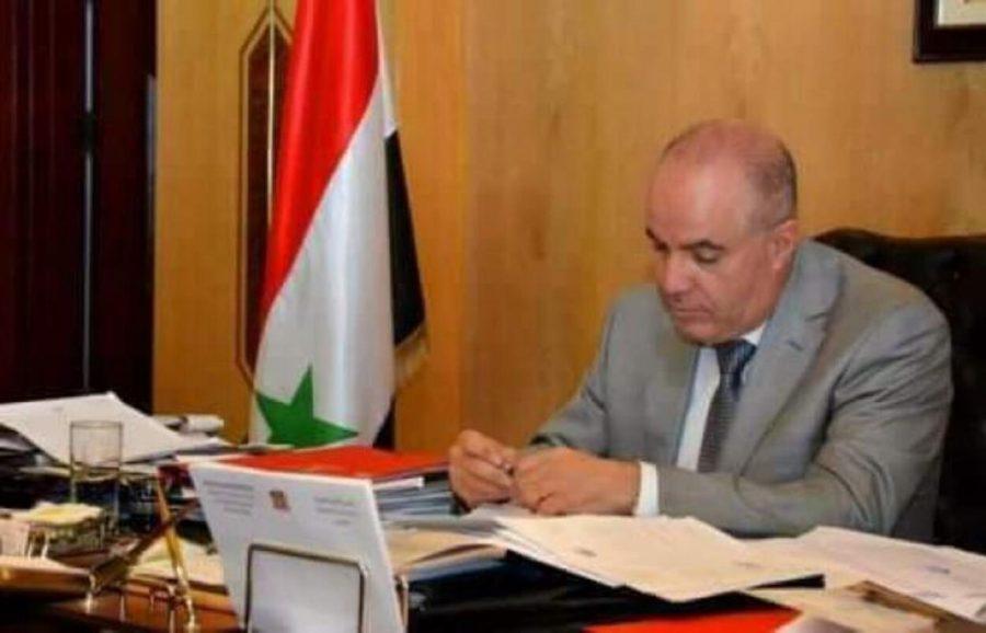 Funds Gharbi Syria Minister Seized