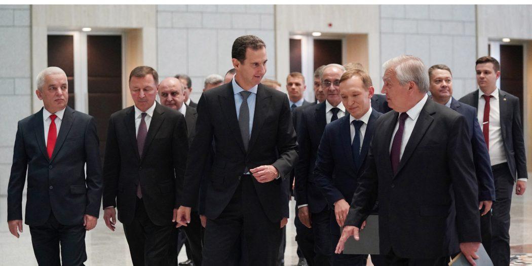 Syria Assad Russia Lavrentiev Return of Refugees