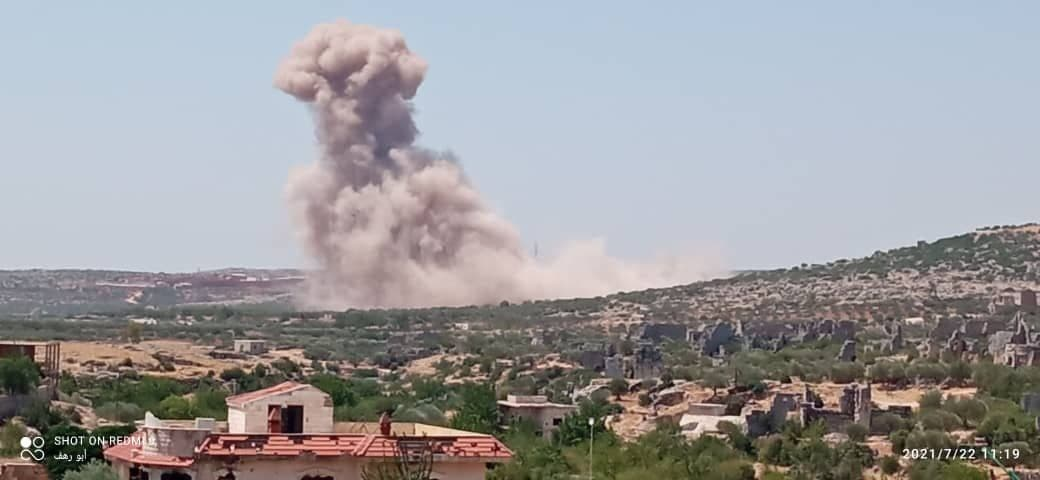 Russia Targets Turkish Position South of Idleb