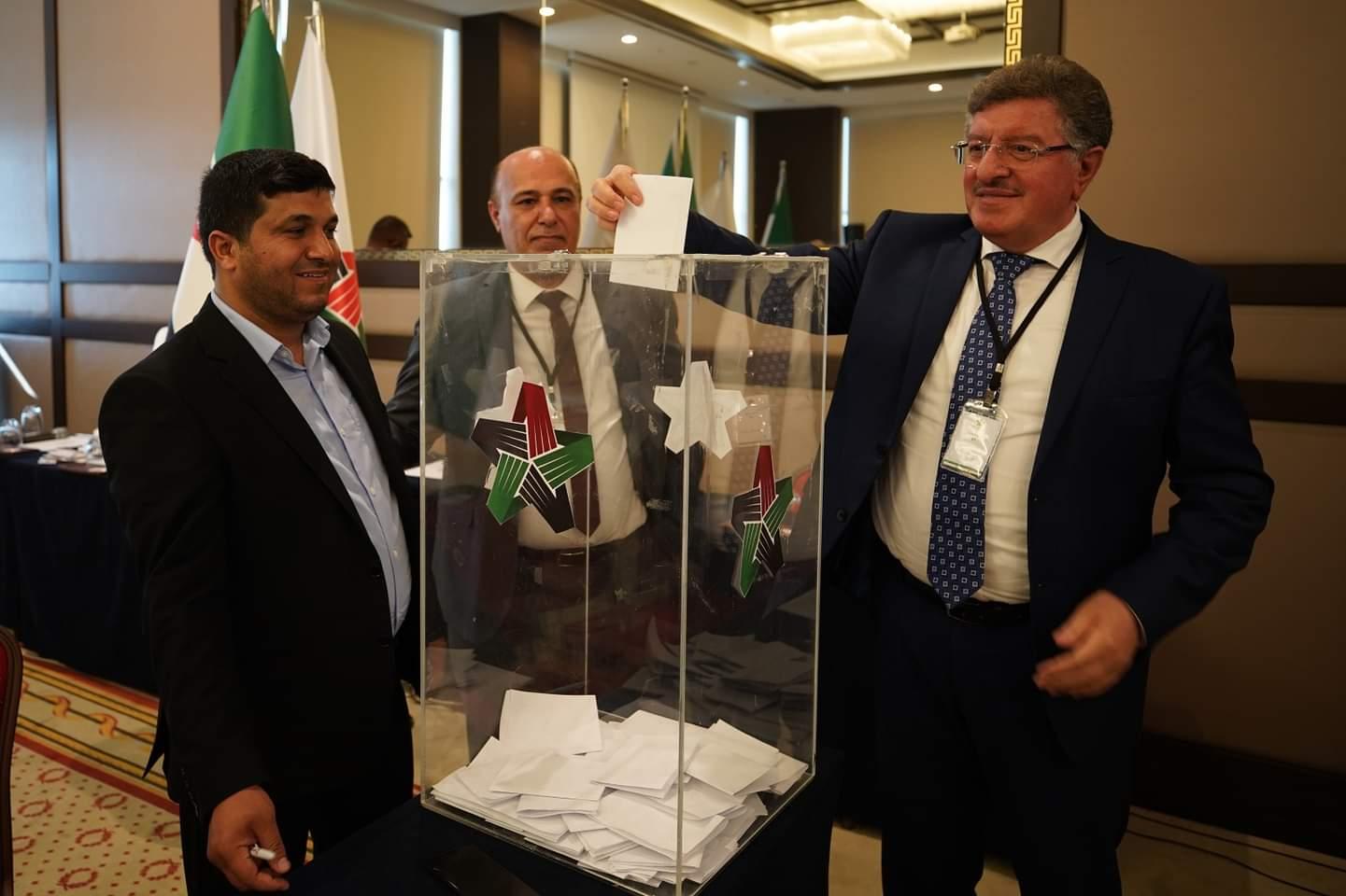 Salem al-Meslet Opposition head elections