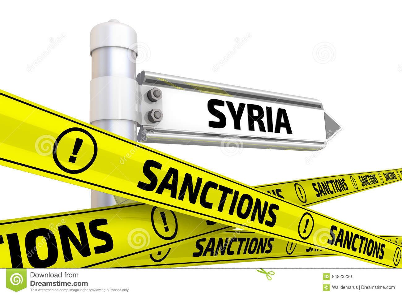 Sanctions on Damascus: U.S'  First Bargaining Chip