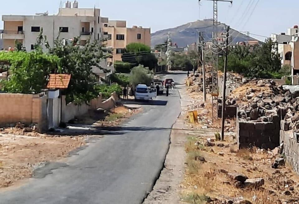 Locals in Shahba Confront Assad