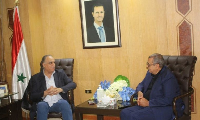 Commerce Minister Keen to Support Efforts to Revitalize Syrian-Jordanian Relations