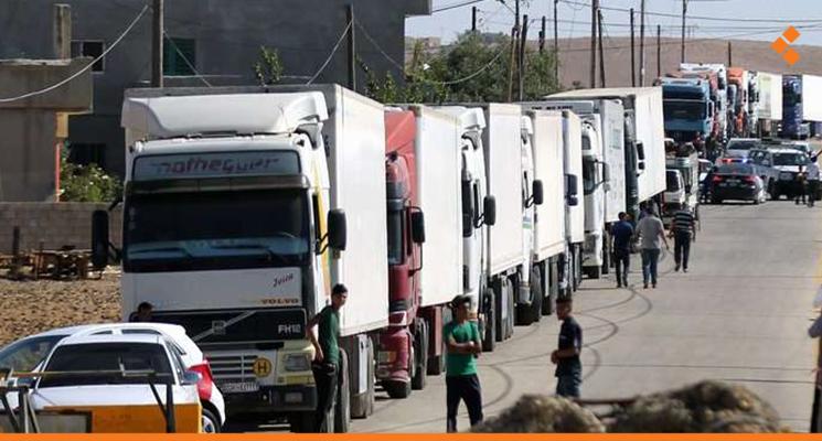 Syrian Trucks Transit Through Jordan to Gulf Without Swapping