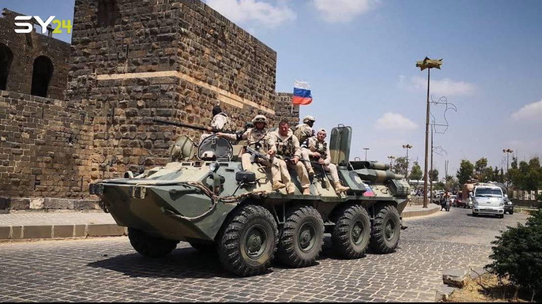 Russian General Meets 8th Brigade Command