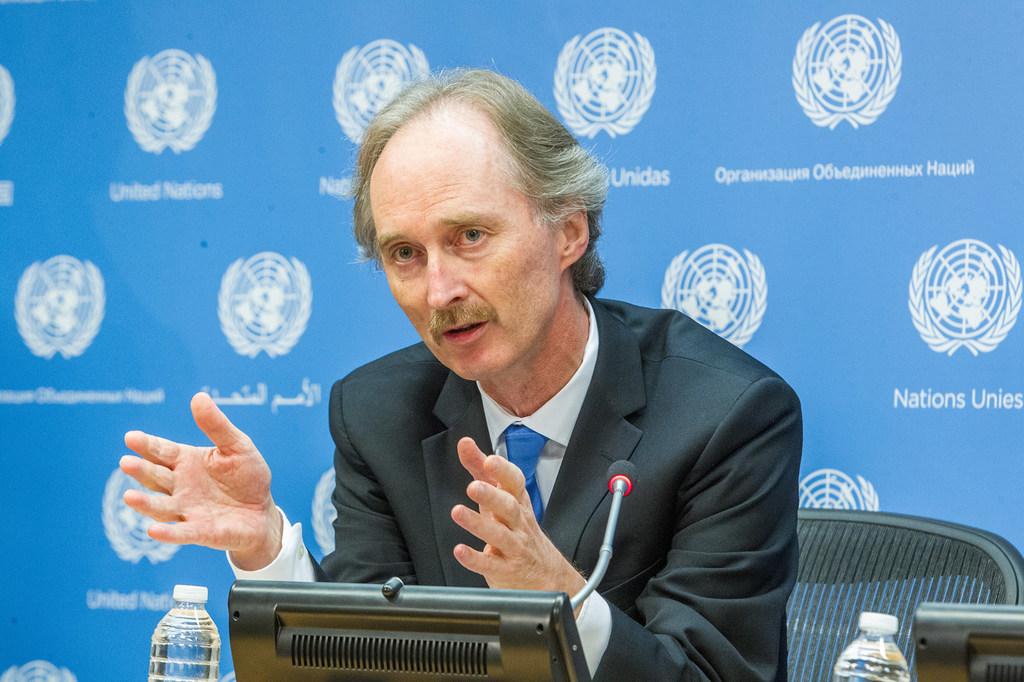 Pedersen Discusses Syria with Lavrov