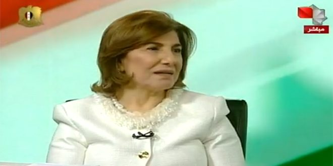 Shaaban Praises President Assad's Speech: Deriving Lessons From the War on Syria