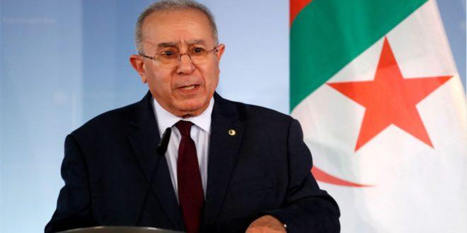 Algeria Supports the Return of Syria to the Arab League, Lamamra Says